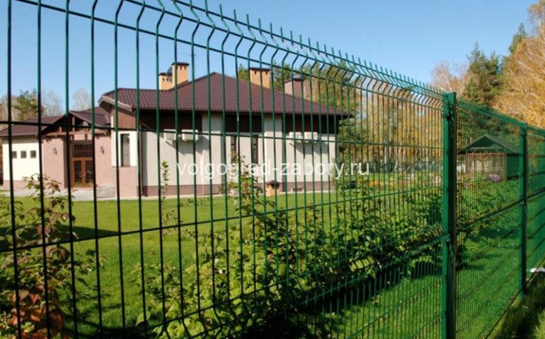 3д забор в Волгограде