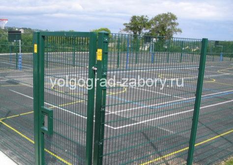 забор 3д  ценав Волгограде