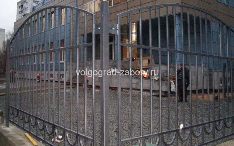 забор из профтрубы в Волгограде