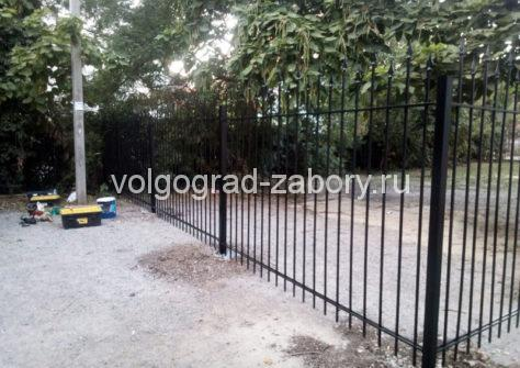 сварной профильный забор